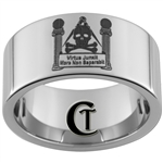 12mm Pipe Tungsten Carbide Masonic Pillar Design