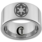 12mm Pipe Tungsten Carbide Star Wars Empire Design