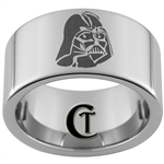 12mm Pipe Tungsten Carbide Star Wars Darth Vader Design