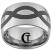 14mm Dome Tungsten Carbide Infinity Design