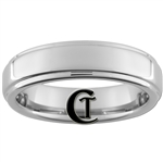 6mm Pipe One-Step Tungsten Carbide Ring