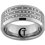 Build Your Own Custom Tungsten Carbide Binary Code Ring