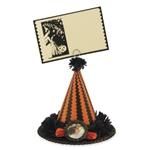 Witch Hat Card Holder by Casey Macke for Bethany Lowe