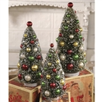 Christmas Bottle Brush Trees by Bethany Lowe