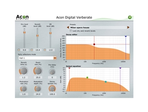 Acon Digital Acon Verberate Algorithmic Reverb with Surreal Realism
