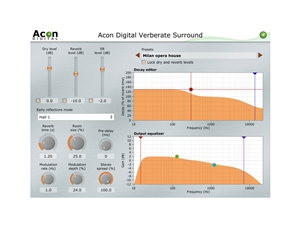 Acon Digital Acon Verberate Surround Surround Reverb with Surreal Realism