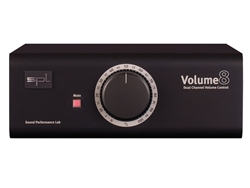 SPL Volume 8 (Black) High-End Multichannel Volume Controller