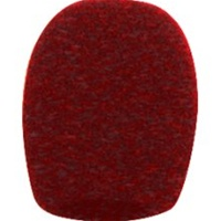 Electro-Voice 379-2, Red windscreen pop filter