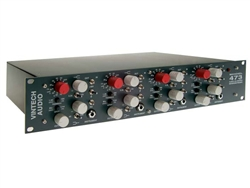 Vintech 473, 4-Channel Mic Preamplifier with EQ based on NEVE1073