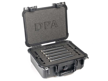 DPA 5006A - Surround Kit with 5 x 4006A, Clips, Windscreens in Peli Case