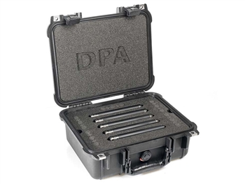 DPA 5015A - Surround Kit with 5 x 4015A, Clips, Windscreens in Peli Case