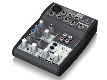 Behringer XENYX 502 - Premium 5-Input 2-Bus Mixer with XENYX Mic Preamp and British EQ