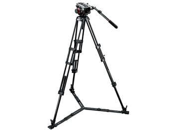 Manfrotto 540HD-546GBK Camera Support Kit: 504HD Head, 546GB tripod, bag