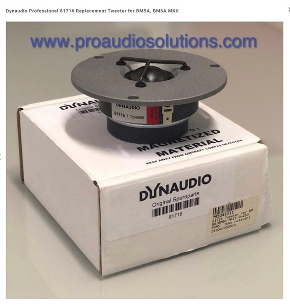 Dynaudio 81980 BM12A replacement Tweeter