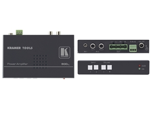 Kramer 900xl - Stereo Audio Amplifier, 2 inputs, 10W Per Channel, RS-232 Switching/Volume Control