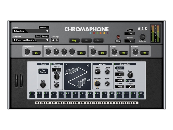 Chromaphone 2 (download),with FREE Epicycles sound bank, Applied Acoustics Systems