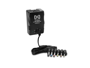 Hosa ACD 477 Univseral AC/DC Power Adaptor power supply, 5 foot cable