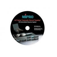 MIPRO ACT-707DV, Hardware interface and software for ACT Wireless PC control of ACT-7 Series & ACT Digital Wireless Systems