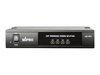 MIPRO AD-90S, UHF Transmitting Antenna Splitter, 1 in 4 out, for AT90 and MI808T transmitters