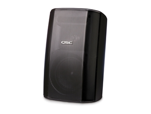 QSC AD-S32T-BK, AcousticDesign Surface Mount Speakers, Black (SINGLE)
