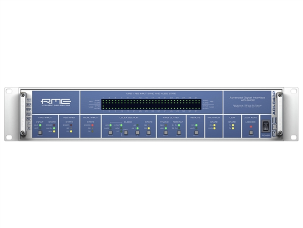 RME ADI-6432 64-Channel MADI/AES Format Converter
