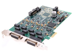 Lynx AES16e-SRC - 192kHz Multi-channel AES/EBU Interface card for PCIe (Sample Rate Conversion version)