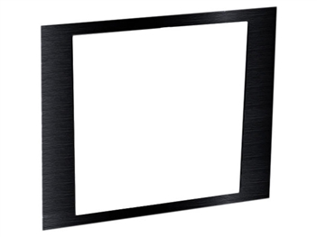 Middle Atlantic AFACE3-DECORA-1, 3Space Face Plate, Black Brushed Finish