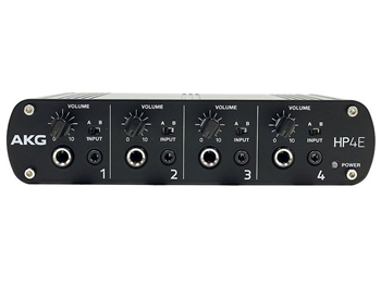 AKG HP4e - 4-Channel Headphone Amplifier