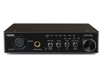 Fostex HP-A4BL 24bit DAC Headphone Ampllifier