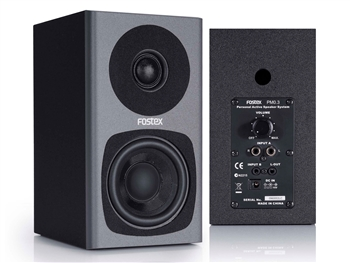 Fostex PM0.3D Grey 2-way Studio Monitor (Pair)