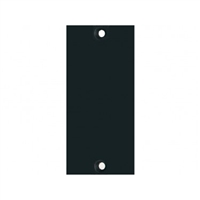 API 2B1 - 200 Series Blank Panel. 1 Slot