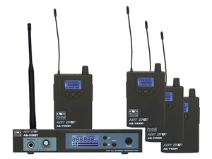 Galaxy Audio AS-1100-4 In-Ear Wireless Monitor Band Pack System