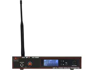 Galaxy Audio AS-1100T Any Spot Wireless Personal Monitor Transmitter Only