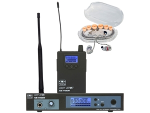 Galaxy Audio AS-1106 Personal Stage Monitoring System with EB6 EarPhones