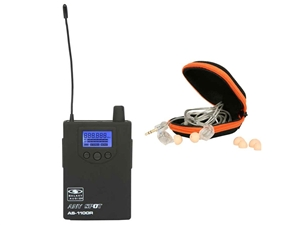 Galaxy Audio AS-1110R Wireless Receiver (AS-1100 Model with EB-10 Ear Buds)