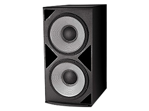 "JBL ASB6128-WH - Dual 18"" Subwoofer (white)"