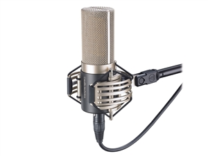 Audio-Technica AT5040 - Side-address studio Cardioid Condenservocal Microphone