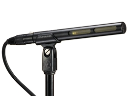 Audio-Technica AT875R Line Gradient Condenser Shotgun Microphonedient, 6.9inch Long