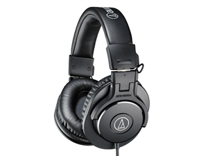 Audio-Technica ATH-M30X - Closed-back dynamic monitor headphones
