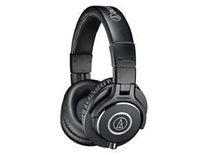 Audio-Technica ATH-M40X - Closed-back dynamic monitor headphones, detachable cables