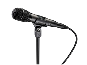 Audio-Technica ATM610A/S - HyperCardioid dynamic handheld Microphone with MagnaLock on/off switch