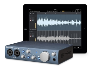 Presonus Audiobox iTwo - 2x2 USB/ iPad/ MIDI recording interface w/ 2 Mic In