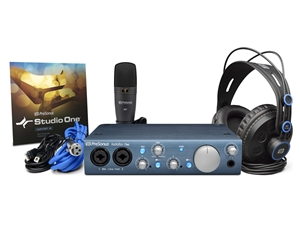 Presonus Audiobox iTwo Studio - AudioBox, HD7 Headphones, M7 Mic, S1 Artist Bundle