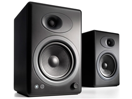 Audioengine A5+ Black - Powered Bookshelf Speakers (pair)