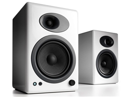 Audioengine A5+ White - Powered Bookshelf Speakers (pair)