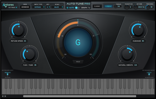 Antares Audio Technologies Auto-Tune Pro Pitch and Time Vocal-Correction Software (Download)
