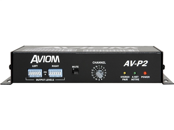 Aviom AV-P2 - 2-Channel Line-Level Output Module
