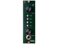 Burl B1 Mic Pre - Preamp module for API 500 series