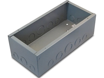 "FMCA100K  , floor box with K insert (4 ""D shell"" holes)"
