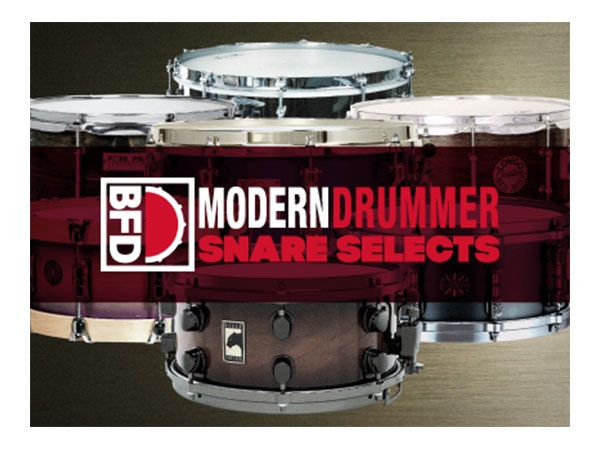 FXpansion BFD Modern Drummer Snare Select (Download)